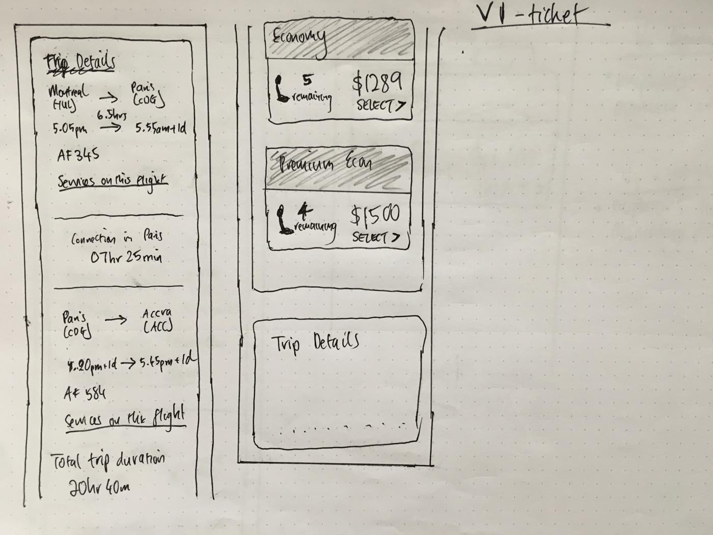 Trip Details V1 Sketch